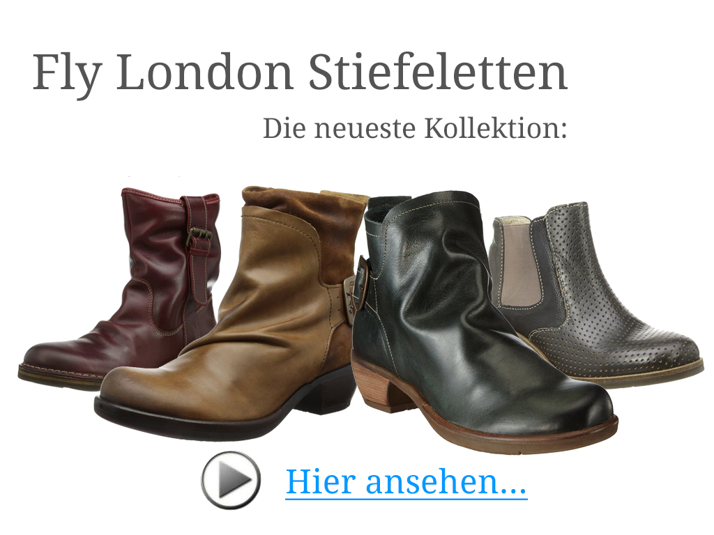 Fly London Stiefeletten neue Kollektion