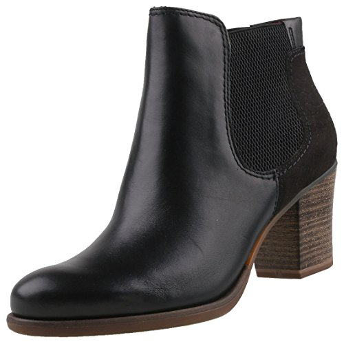 tamaris chelsea ankle boots tora schwarz damen. Black Bedroom Furniture Sets. Home Design Ideas