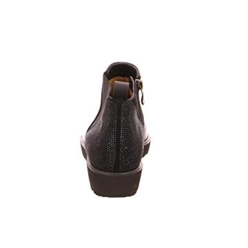 Chelsea Boots mit Strass / Nieten hinten – Ara Malmö Schwarz 12-41560 - 3