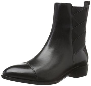 108d674531ab5b Geox Chelsea-Boots D Lover A Schwarz mit Gummizug verziert