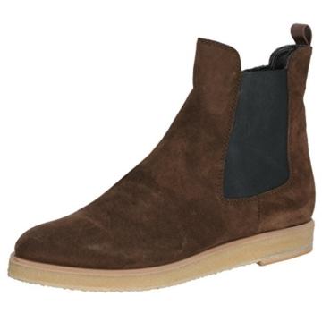 30529a46627423 maripe-chelsea-boots-braun-gummizug-schwarz-sohle-beige-