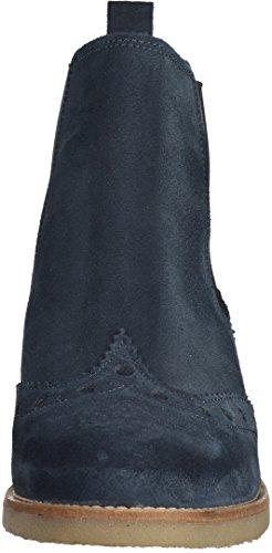 spm budapester chelsea boots valla 62326588 blau sohle beige. Black Bedroom Furniture Sets. Home Design Ideas