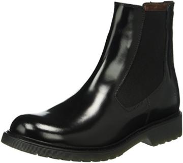 marc o 39 polo damen 60811585001122 chelsea boots schwarz lack optik. Black Bedroom Furniture Sets. Home Design Ideas