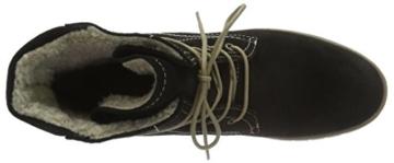 Tamaris 26243 Chukka Boots Schwarz, warm gefüttert -
