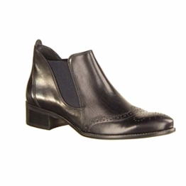 Paul Green Chelsea-Boots 7358-321 Metallic-Look Blau