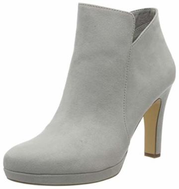 Tamaris Ankle-Boot Stiefeletten Damen Grau 1-1-25316-24