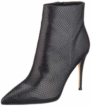 Guess Ankle-Boots Reptillederoptik Olanes/Shootie Schwarz